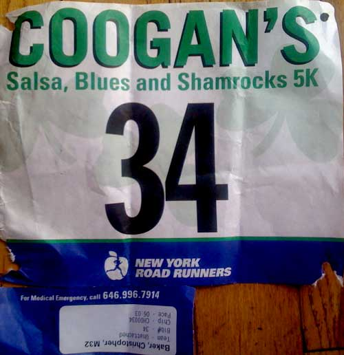 029 Coogan's Shamrocks 5K: 18:15
