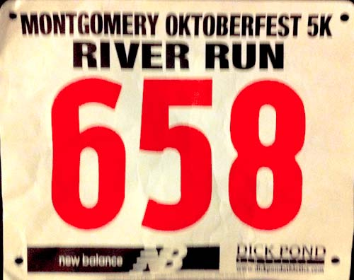 049 Montgomery River Run 5K: 18:24 – 1st Place