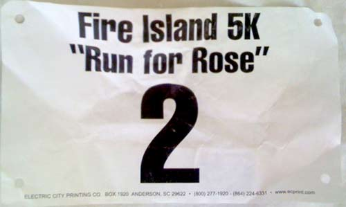 045 Fire Island 5K: 17:54 – 2nd Place