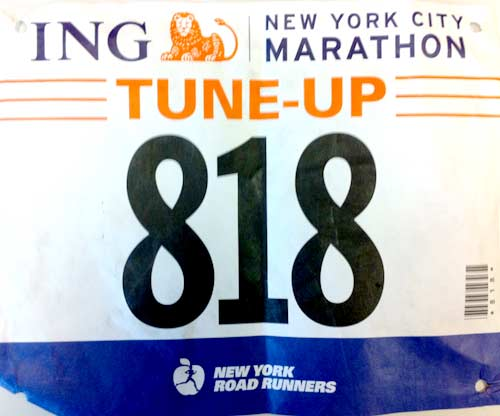 047 NYC Marathon Tune up 18M: 2:01:32