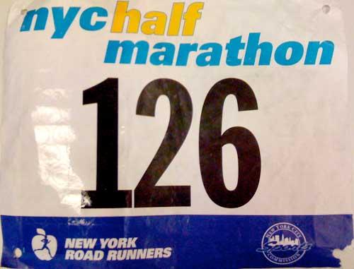 031 NYC Half Marathon: 1:20:48