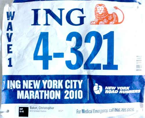 052 – NYC Marathon: 3:01:59