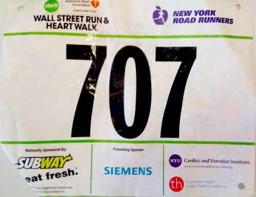 041 Wall Street Run – 3 Miles: 19:25?